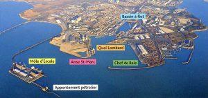 Le port de la pallice, aujourd'hui port atlantique la rochelle, 6ème grand port maritime de france (tonnage total, 2012)