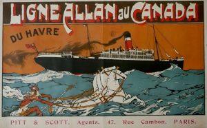 Le service de la ligne allan du havre au canada, créé en 1905, sera une réussite