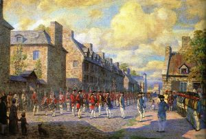 Capitulation de montréal, 8 septembre 1760