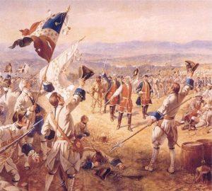 Victoire du général montcalm à fort carillon (1758)