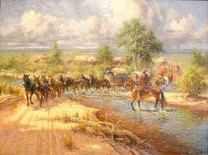 La charrette, aux confins de la louisiane française (missouri) 11