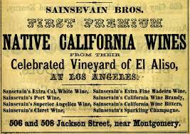 Native california wines. Article : vignes, un nom bordelais prédestiné pour la culture du vin en californie. Aqaf
