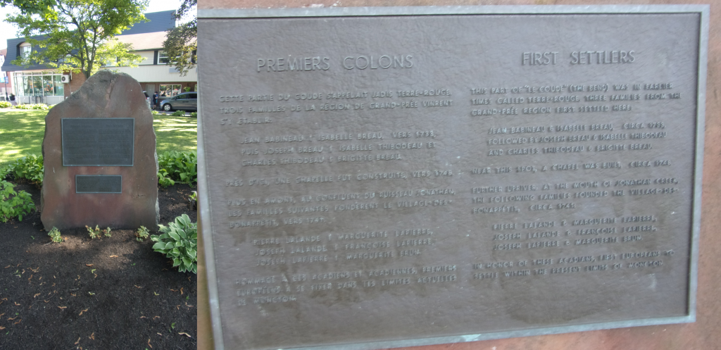 Moncton : les colons oubliés au coude de la rivière 5
