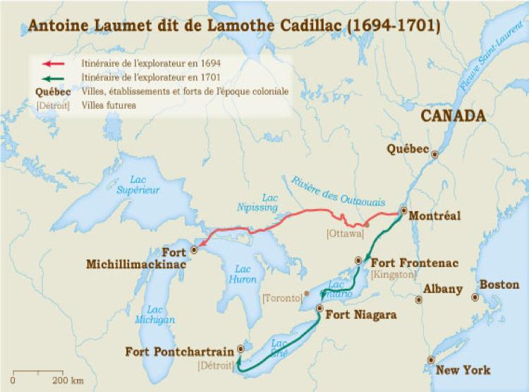 Lamothe cadillac : quand la légende contredit la vérité historique 70