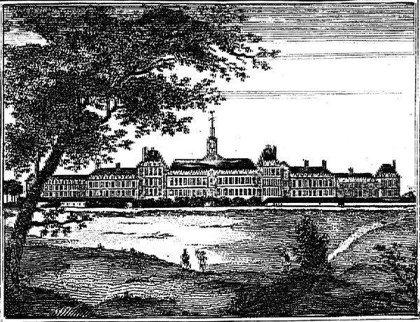 La prison-hôpital de bicêtre au xviiie siècle (auteur inconnu, domaine public)