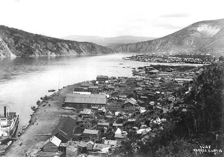 Cité dawson yukon 1899